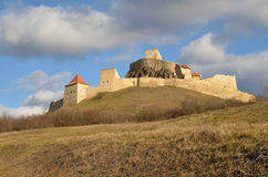 Rupea fortress, Brasov county,  Transylvania, Romania Royalty Free Stock Images