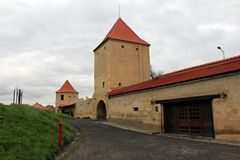Rupea Fortress (defense towers ) Royalty Free Stock Photography