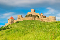 Rupea fortress,fortification on a hill,Brasov,Transylvania,Romania,Europe Royalty Free Stock Photo