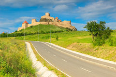 Rupea fortress,fortification on a hill,Brasov,Transylvania,Romania,Europe Stock Image