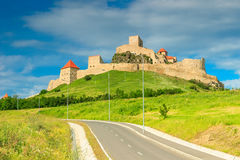 Rupea fortress,fortification on a hill,Brasov,Transylvania,Romania,Europe Royalty Free Stock Image