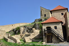 Rupea fortress Royalty Free Stock Photos