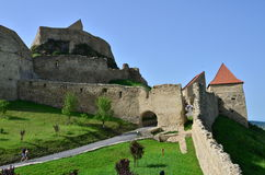 Rupea fortress Stock Image