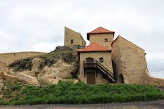 Rupea Fortress (houses) Royalty Free Stock Image