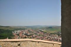 Rupea fortress. Inner yard of restored Rupea fortress from Transylvania, Romania Stock Photos