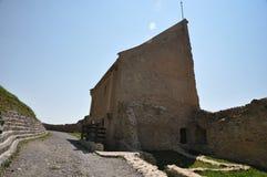 Rupea fortress. Inner yard of restored Rupea fortress from Transylvania, Romania Stock Image