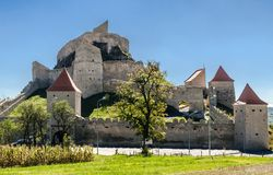 Rupea fortress,medieval landmark of Transylvania Royalty Free Stock Photos