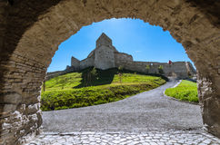 Rupea fortress,medieval landmark of Transylvania Royalty Free Stock Photography