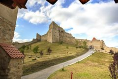 Rupea fortress, Romania Royalty Free Stock Photography