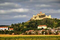 Rupea fortress, Romania stock image