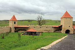 Rupea Fortress (ruins) - Transylvania, Romania Royalty Free Stock Images