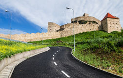 Rupea Fortress, Transylvania, Romania Stock Photography