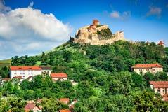 Rupea Fortress, Transylvania, Romania Royalty Free Stock Photography