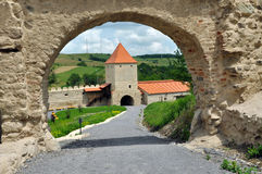 Free Rupea Newly Renovated Medieval Fortress In Transylvania, Romania Stock Photography - 31998212