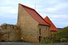 Rupea Reps, medeltida spår för fästning Transylvania Rumänien Royaltyfri Bild