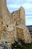 Rupea Repsfästning Medeltida spår Transylvania Rumänien Arkivbilder