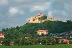 Rupea-Zitadelle in Rumänien lizenzfreies stockbild