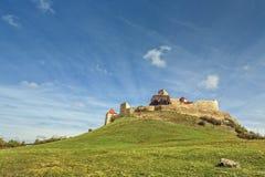Rupeacitadel, Roemenië Stock Afbeeldingen