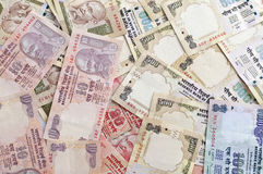 Rupee background photo Stock Photos