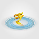 Rupee Ripple Currency Royalty Free Stock Images