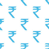 Rupee seamless pattern Stock Images