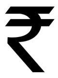 Rupee symbol Stock Photo