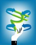 Rupees, vector illustration