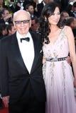 Rupert Murdoch et Wendi Deng Photos stock