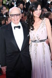 Rupert Murdoch and Wendi Deng Stock Photos