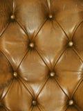 Rupholstery di Leathe Immagine Stock