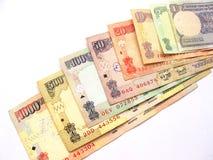 Rupia dinero en circulación-India internacional Imagen de archivo