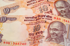 Rupia indiana Imagens de Stock Royalty Free