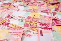 Rupia indonésia Fotografia de Stock Royalty Free