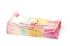 Rupia indonésia Foto de Stock Royalty Free
