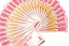 Rupia indonésia Imagem de Stock Royalty Free