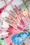 Rupia indonesiana Immagine Stock