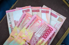 Rupiah Indonesia money detail. Currency concept - close up Stock Photo