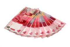 Rupiah - Indonesian Money Royalty Free Stock Photos