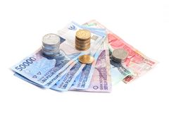 Rupiah - Indonesian Money Stock Photo