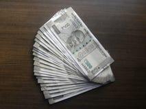 500 rupias fotos de archivo