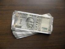 500 rupias imagenes de archivo
