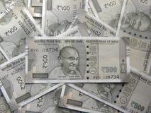 500 rupias de notas fotos de archivo libres de regalías