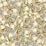 Rupias indianas da textura sem emenda Fotografia de Stock