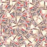 Rupias indianas da textura sem emenda Imagem de Stock Royalty Free