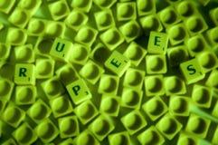 Rupie Fotografie Stock