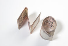 Rupie indiane 'NO' Fotografia Stock
