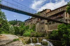 Rupit, Catalonia Royalty Free Stock Photos