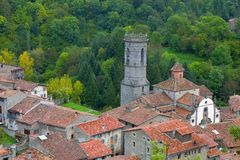 Rupit, Catalonia, Spain Royalty Free Stock Photography
