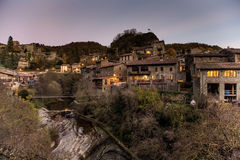 Rupit in the evening Stock Image