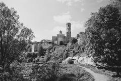 Rupit i Pruit - Medieval Catalan village, Spain Royalty Free Stock Image